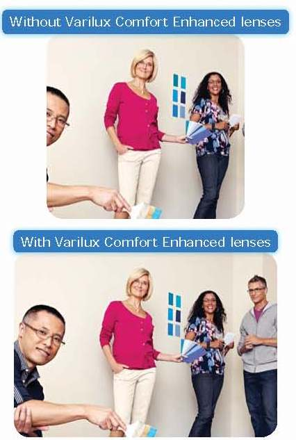 New VARILUX COMFORT ENHANCED