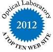 Top Ten Website Optical Lab Award