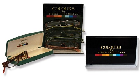 Eyewear by ROI, Colours by Alexander Julian Eyewear Collection